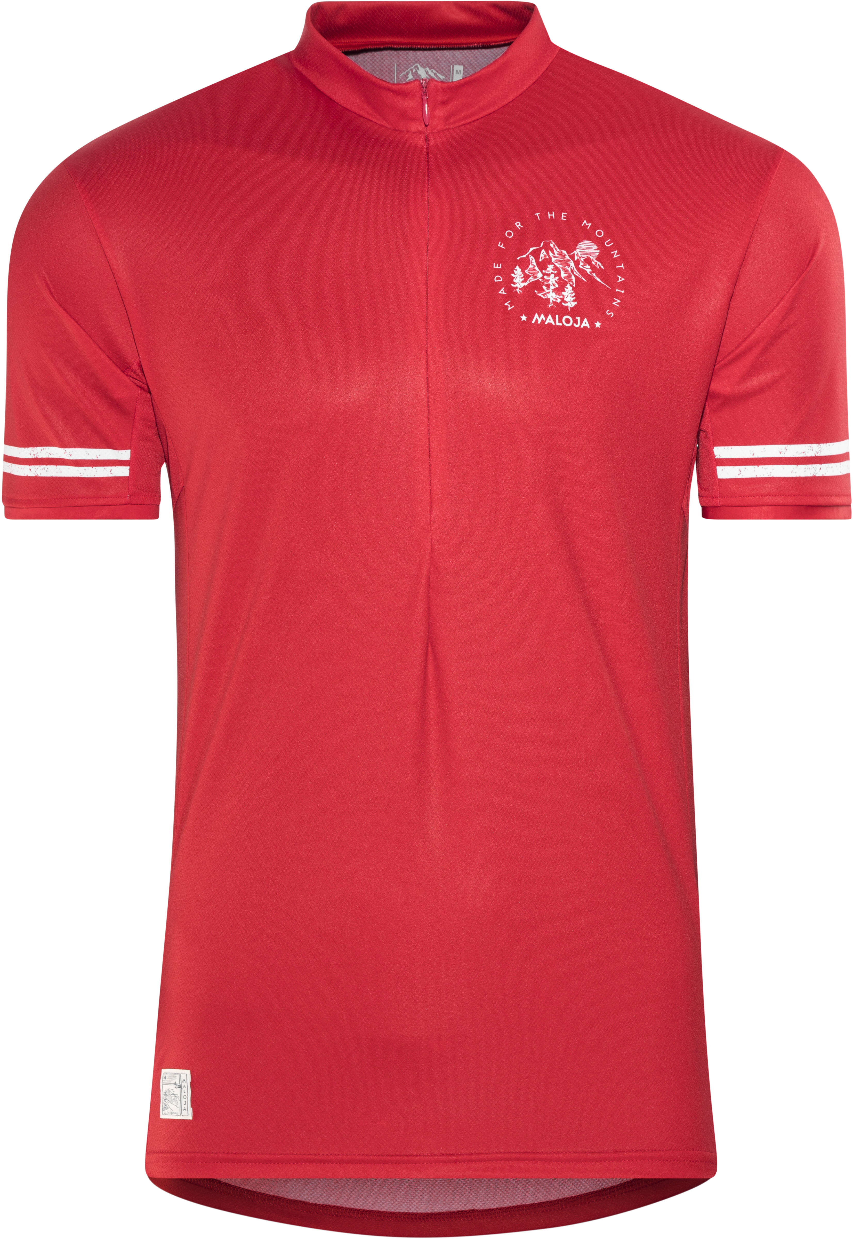 Maloja DomenicaM. All Mountain Bike Jersey Shortsleeve Men red at ... 9c87bf3de
